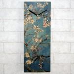 명화 자작나무 사각벽시계[302]벽장식 인테리어 결혼 집들이 개업 선물 축하 벽시계 인테리어시계 선물시계
