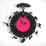 무소음 캐릭터 데저트시계[desert201]캐릭터시계/동물시계/유니크한시계/디자인시계/외국디자인시계/인테리어시계/스틸시계/빈티지시계/모던시계/심플한시계/특이한시계/핑크시계/블랙시계/벽걸이시계/이쁜벽시계
