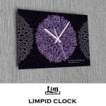 림피드벽시계[RH-052]독특한벽시계/멋있는벽시계/그래픽디자인벽시계/화려한벽시계/인테리어용벽시계