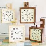 뷰티풀트리내츄럴양면시계 [4 type 선택 가능]내추럴인테리어양면시계/장식용벽시계/예쁜/신혼집/집들이/양면시계/무소음/양면벽걸이시계/전문점/쇼핑몰/판매/