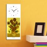임프레이션2 시계 - 고흐의 해바라기 벽시계꽃그림, 손그림,