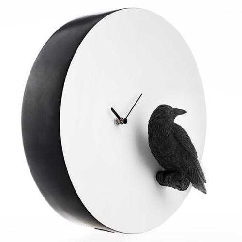 Moon X CLOCK - Raven (까마귀 벽시계)