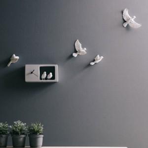 Sparrow X CLOCK (참새벽시계) - 라이트 그레이