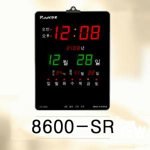 8600-SR/ 온도, 음력표시, 레드led