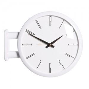 모던 양면벽시계(화이트) /Morden Double Clock A7(WH)