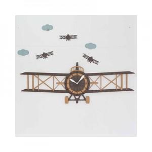 프로펠러 비행기 무소음벽시계