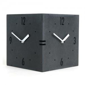 Twin Clock (컬러우드/ 핸드메이드) 벽걸이시계
