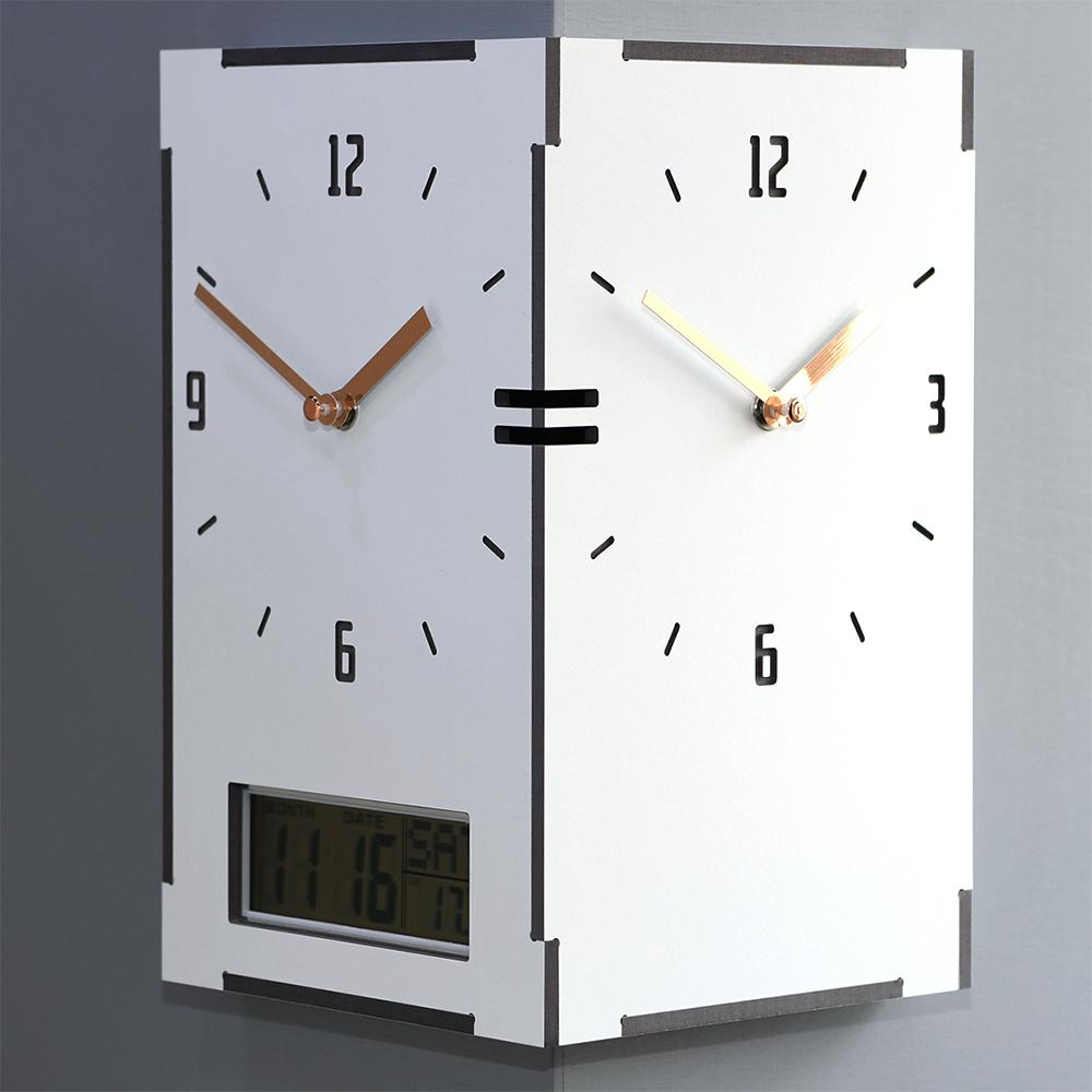 직사각 코너시계 - 캘린더 (Reangle corner clock - Calendar)
