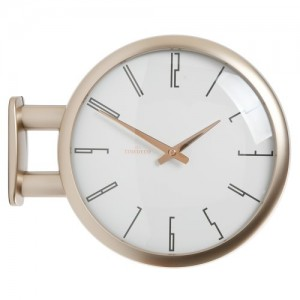 Morden Double Clock A7(Gold)